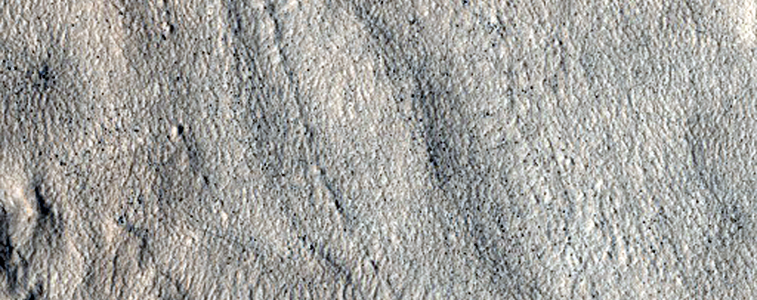 Complex Ridged and Pitted Surface in Terra Cimmeria