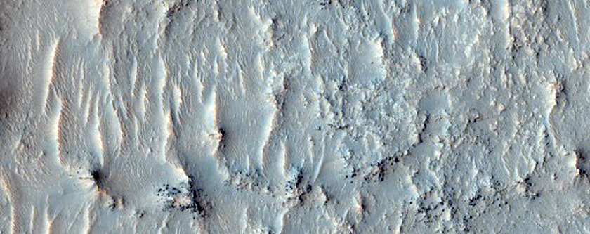 Degraded Crater Floor