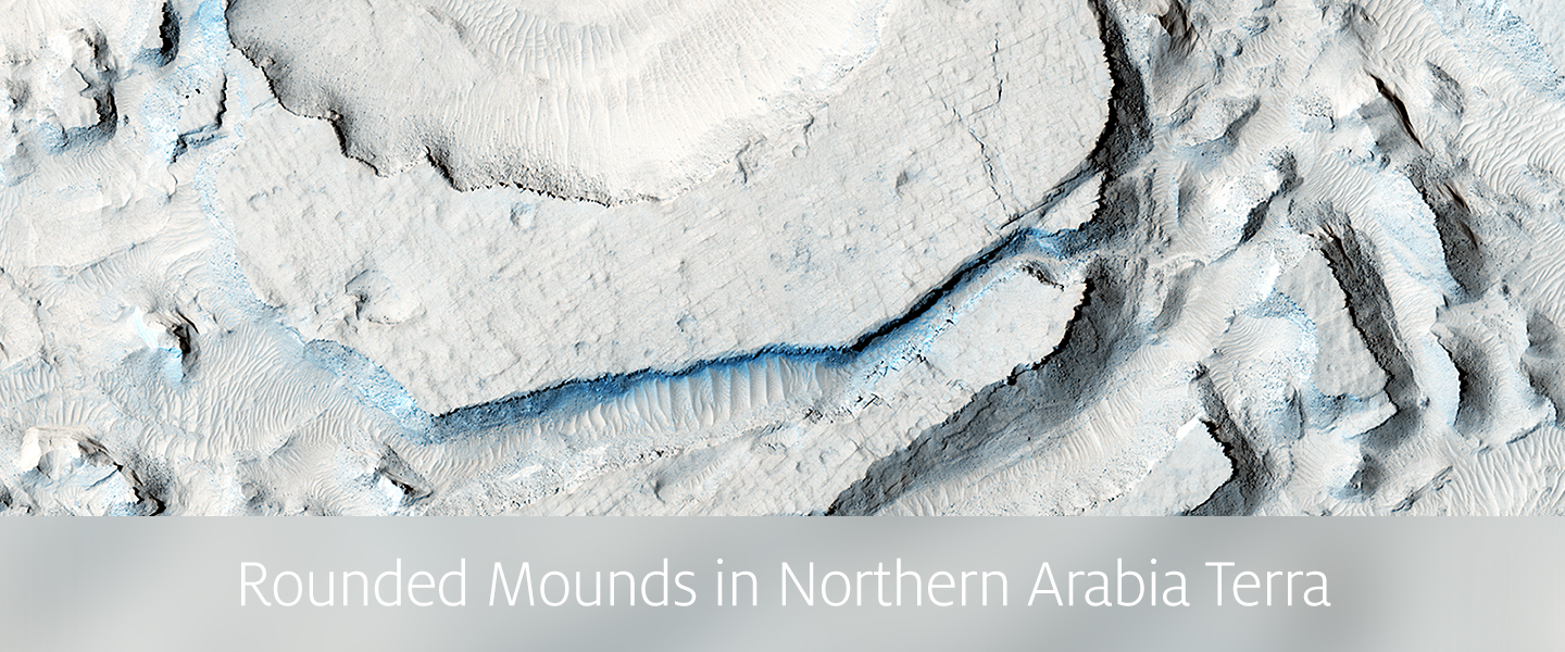 Rounded Mounds in Northern Arabia Terra
