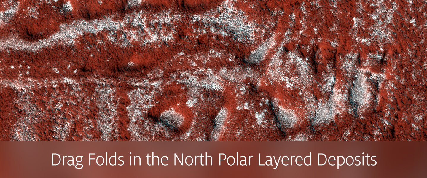 Drag Folds in the North Polar Layered Deposits