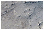 Crater within a Crater in Naktong Vallis Headwaters Region