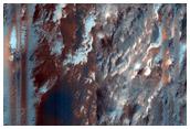 Layered Rock Exposures in CTX B18_016839_1481_XN_31S286W
