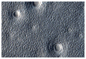 Expanded Secondary Craters in Arcadia Planitia