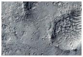 Schiaparelli Crater Floor