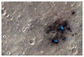 Recent Impact Crater within Candidate InSight Landing Ellipse