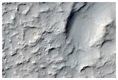 Fresh 1-Kilometer Impact Crater