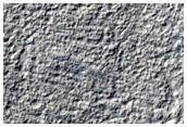 Frost Monitoring in 6-Kilometer Diameter Crater