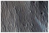 Scarp in Olympus Mons Aureole