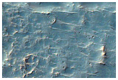 Channels in a Crater Northeast of Hellas Planitia