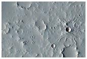 Terrain in the Tharsis Region