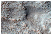 Small Crater on Hellas Planitia Rim