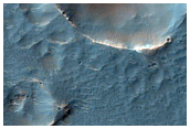 Hale Crater Ejecta and Surrounding Plains