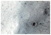 Crater Rims Near Maja Valles