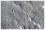 Terrain Sample Northwest of Olympus Mons