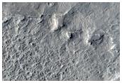 Basin Draining to Robert Sharp Crater