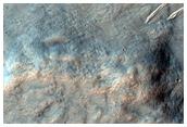 Crenulated Scarp in Hesperia Planum