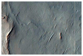 Crater with Alluvial Fans