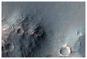 Linear Trench Cutting Impact Crater