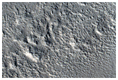 Layers along Wall of Hrad Vallis