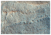 Layered Crater Deposit in Utopia Planitia