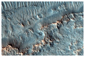 Layered Ejecta from Bonestell Crater