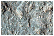 Monitor Slope Features in Crater in Noachis Terra