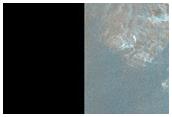 Exposures of Layered Bedrock North of Hellas Planitia