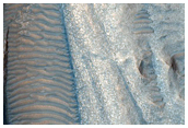 Barchanoid and Transverse Dunes in Hebes Mensa