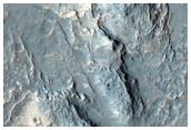 Layers Exposed North of Hellas Region