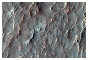 Putative Chlorides Inside Impact Crater