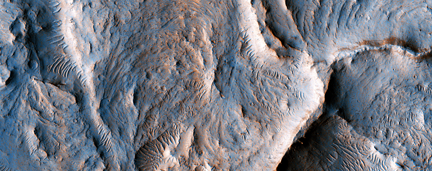 Martian Meanders and Scroll-Bars