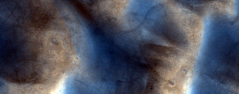 Ripple Change Detection of Partially Eroded Dunes in Southern Mid-Latitudes