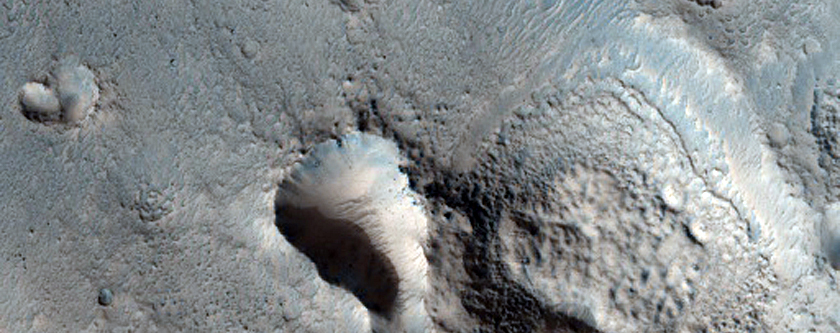 Channel within Larger Channel in Northern Mid-Latitudes