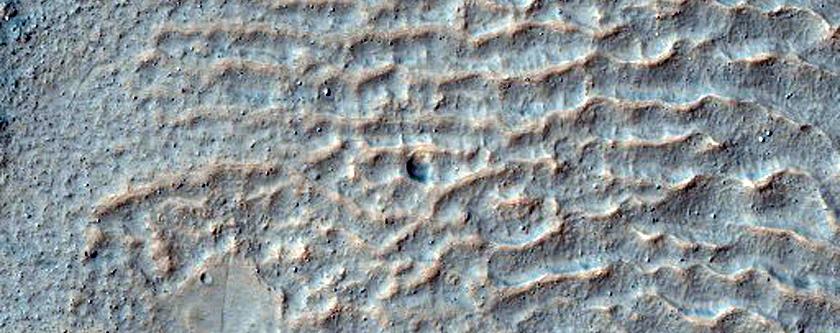 Li Fan Crater Fan Landforms