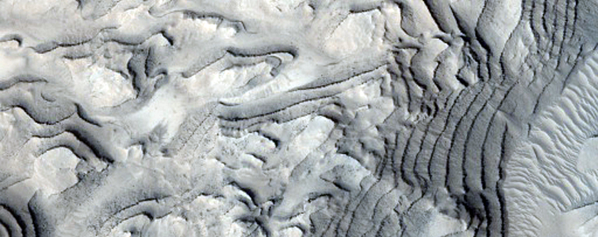 Monitoring Temporal Changes in Danielson Crater