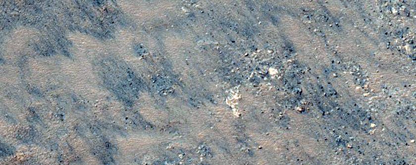 Potential Flow Lobes in Southern Argyre Region