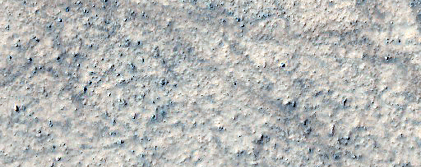 Landforms in Noachis Terra