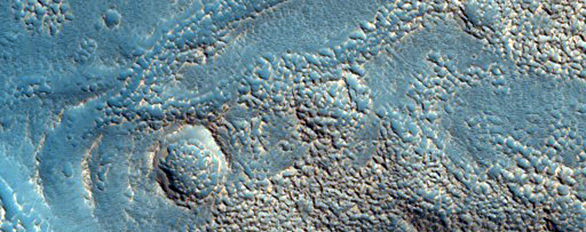 Channel within Valley in Northern Mid-Latitudes