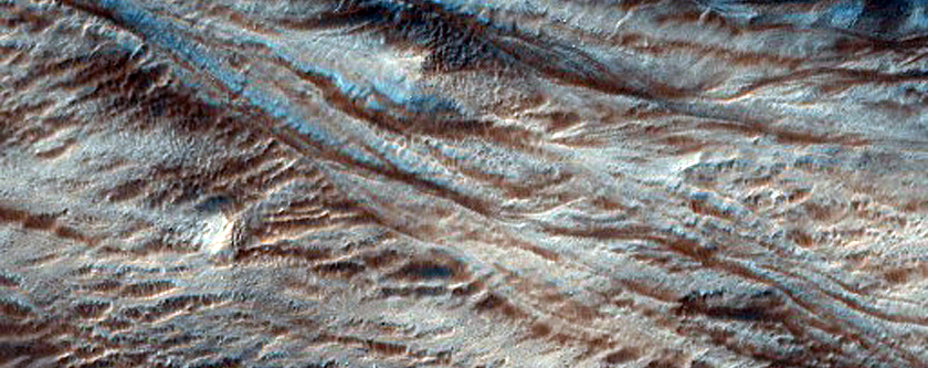 Deeply Incised Gullies and Arcuate Ridges