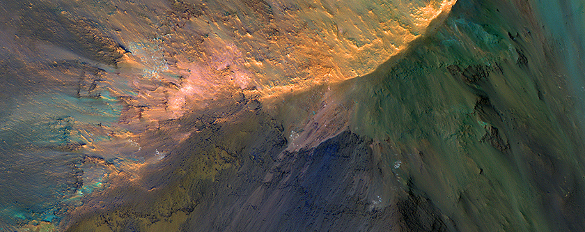 The Hills are Colorful in Juventae Chasma