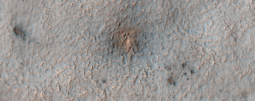 A New Impact Site in the Southern Middle Latitudes