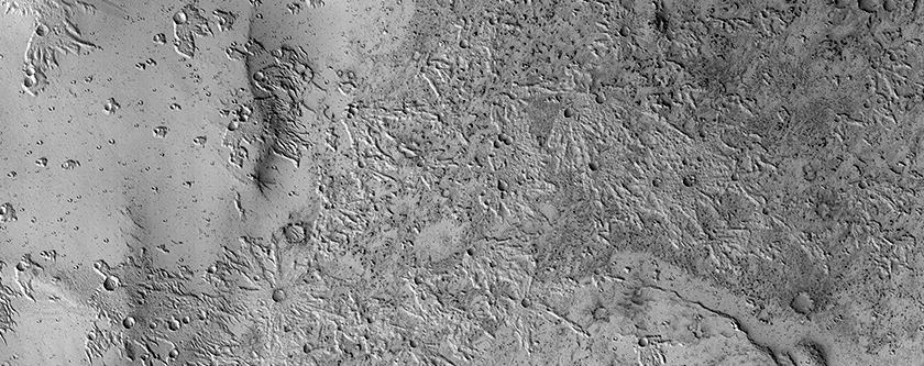 Secondary Craters in Bas Relief