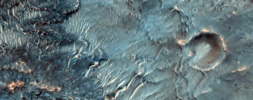 Ejecta and Fan Stratigraphy in Terra Cimmeria