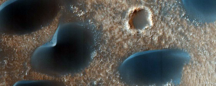 Extra-Crater Dune Field