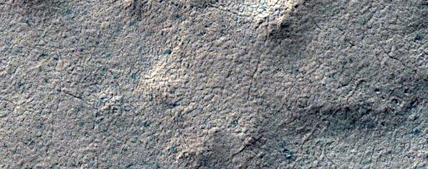270-Meter Diameter Crater on South Polar Layered Deposits