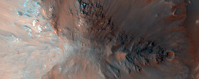 Pitted Mound and Ridges in Aurorae Chaos