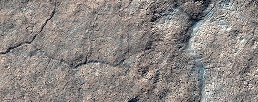 1228-Meter Diameter Crater