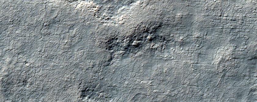425-Meter Diameter Crater
