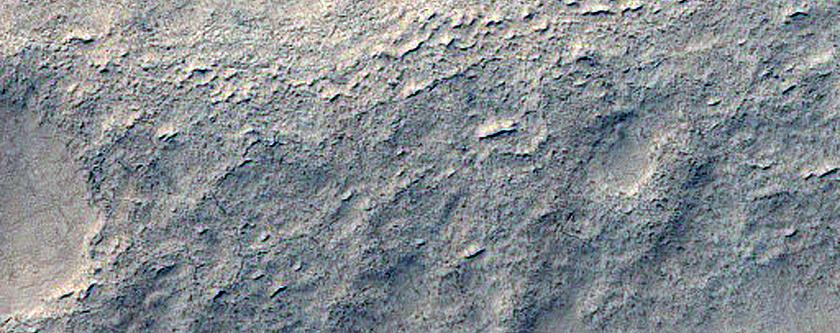 364-Meter Diameter Degraded Impact Crater