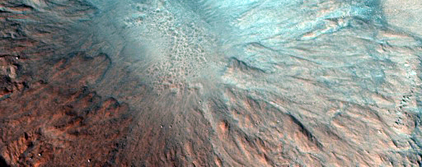 Possible Well-Preserved Crater in Acidalia Planitia